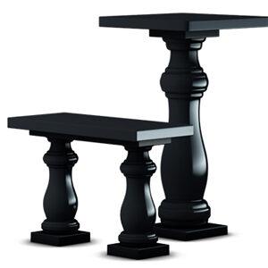 Столы и скамейки из гранита