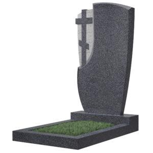 Памятники из гранита Темно-серые
